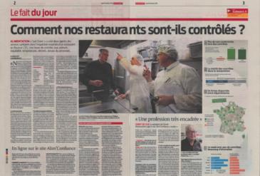Risques alimentaires : comment nos restaurants sont-ils contrôlés?